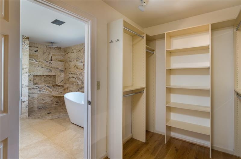 Add'l views of master bath retreat!