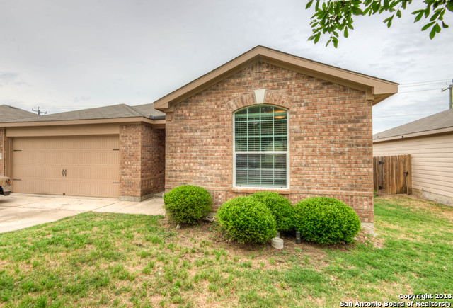 A perfect First Home for a young family or for those looking to downsize with a spacious floor plan and the comfort of a one story home located in a gated community and ECISD.  Featuring three bedrooms and two full baths with a good sized backyard perfect for entertaining, not to mention that it is priced to sell!  Bring your Buyers!