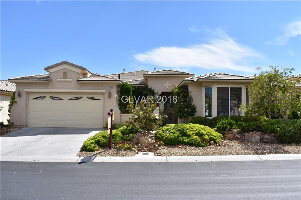 4859 DENARO Drive, Las Vegas, NV 89135