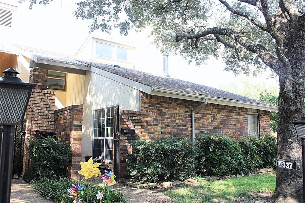 Fantastic Location!! Walking distance from Richland College! Located directly in the center of the TI, Nortel, Blue Cross tech sector. Richardson ISD! Some of the most highly-ranked public schools in North Texas! Incredibly close to both 635 and 75. This property has an amazing floor plan. Great sized kitchen. All bedrooms are downstairs with a bonus office media room upstairs loft area. HOA includes two pools including one Olympic size, two tennis courts, a dog park, a brand-new, secured children's play area, and a club house for events. Bring your creative ideas! Perfect investment property!!