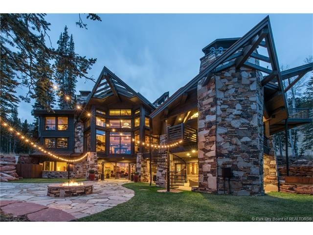 An Artistically Designed Mountain Ski Home Nestled In The Trees Of Colony Park City