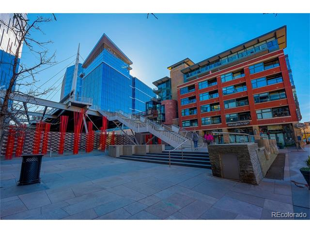Location! Location! Location!  One of downtown Denver's finest locations. Steps to parks, trail systems, hottest restaurants, shopping, business district, breweries, Interstates, bars and so much more! This loft style unit features great layout for entertaining and access to the best people watching balcony.  Secure building with parking in secured underground garage. This unit has been well taken care of and shows. Live in one of the hottest areas in all of Denver and be able to walk away with no worry and head to the mountains!  Brand new Whole Foods opened just across the bridge... no need for a car with this unit.  Everything downtown, Lodo, Lohi and Riverfront Park has to offer within walking distance.  Brand new HVAC unit installed in August of 2017. Furnishings are negotiable excluding the art work.