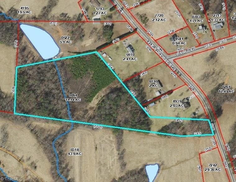 Nice tract of land perfect for building your dream home. Has nice stream towards the middle back of the property. Great location close to town, schools and Hwy 52.  Unrestricted land with unlimited possibilities! Great find, won't last long!