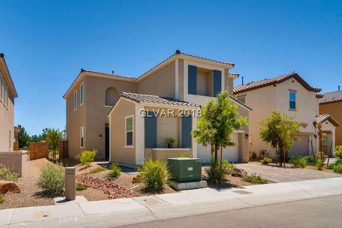 ON THE GOLF COURSE with PERFECT FLOOR PLAN!  Eastward park-like view over four fairways!  Like-new condition house, fully landscaped with large backyard and covered patio.  Open floor plan with spacious kitchen, and stainless steel appliances with granite counter tops.  A wonderful home in the amenities rich community of Tuscany.