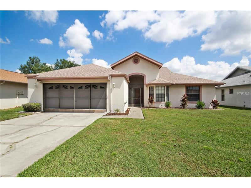 Sell your lawn mower……lawn care included in the HOA! Relax in this well-maintained neighborhood located in the desirable area of Williamsburg on a low traffic cul-de-sac street.  Somerset Village offers a community pool and tennis courts just minutes from your front door.  Spacious open, airy interior creates a beautiful atmosphere featuring easy care tile, vaulted ceilings and an abundance of natural light.  Your new home includes a large enclosed Florida room with AC.  This split floor plan provides a private master bedroom with its own private access to the outdoor living space.  Gather with family and friends in the Florida room or BBQ in the spacious yard.  Conveniently located within a 15-minute radius from Sea World, Universal Studios and Disney and easy access to Interstate 4, 528 toll road, International Drive, and shopping.  Don't miss your chance to live in this quiet established community convenient to everything!