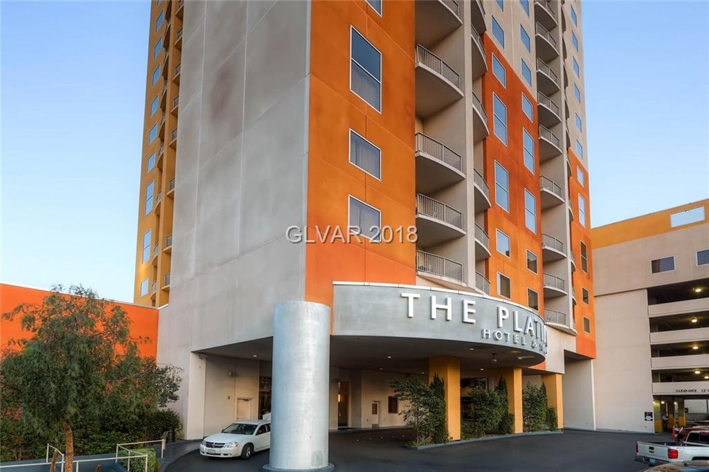 One-bedroom (Princess Suite), fully-furnished condo/hotel located on the 4th floor.  Stainless steel appliances, flat screen TV's, sofa-sleeper and king bed.  Granite counter tops in kitchen, indoor & outdoor pool, spa, fitness center & restaurant. Walking distance to Las Vegas Strip!  Platinum Nightly Rental Program Available!