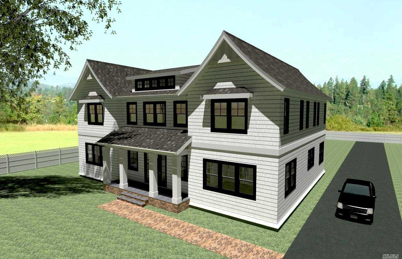Pre-Construction Land Offering From Georgica Builders With Renderings And 7,000 Sq Ft Spec House Priced At $2,250,000. Also, Can Opt For A Custom Built New Construction Dream Home For $5,495,000
