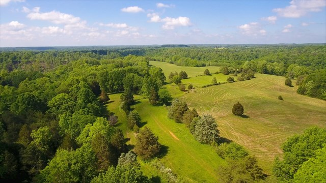 180+ acres with over 70 acres in pasture with fencing, a creek, and old home. This is a beautiful farm that produces a huge amount of hay & pasture grass. Seller will consider having property surveyed with acceptable offer.