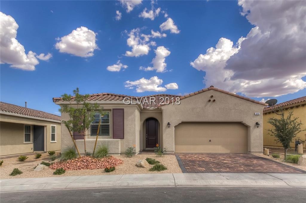 Stunning Single Story in Tuscany! Over $50k in UPGRADES! NEW HOME!Built in 2018.Fully Landscaped Front & Back DONE! Sunburst Shutters throughout. Spacious Living-room w/High Ceilings.Gorgeous Gourmet Kitchen features Granite Counters,Extra Cabinets & Stainless Steele Appliances!Master w/Walk-in closet & large bath. Garage w/Epoxy Flooring,Cabinets, Lighting & Tankless Water Heater.  Lush pool size backyard w/covered patio.  Turn Key, must see!