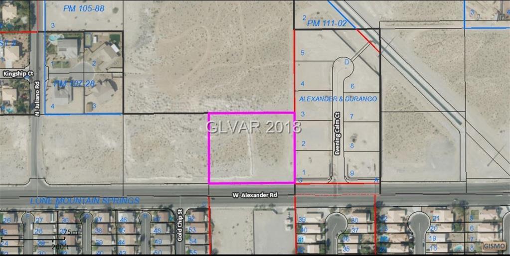 0 W ALEXANDER Road, Las Vegas, NV 89129