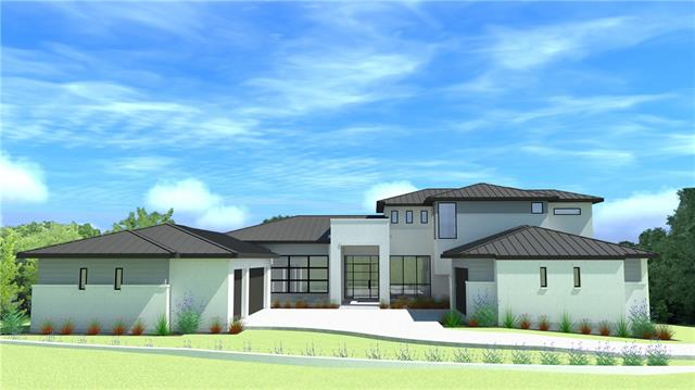 New Custom Contemporary Home with Great Views! The property is in the exclusive section of this master planned community and is directly across from the 2018 HBA Parade of Homes. With 5 full size garage bays there is plenty of room for the whole family to park and store your prized vehicles! 3 Guest rooms on floor 1 with 2 bedrooms and a game-room up. Conditioned wine wall in dining area, gourmet kitchen with a large working pantry. Master bath has 2 showers, with 1 of them being a private outdoor shower!