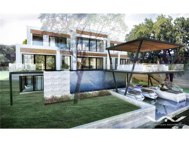 "Casa Mallorca -""to be built"" Conceptual plans by Internationally recognized architect Winn Wittman, AIA. Bring this spectacular home to life amongst the finest homes in Austin. Situated on over 100 feet of lapping Lake Austin waterfront. This home was inspired by the modernist Villas off the coast of Spain on the island of Mallorca. With iconic views of the Pennybacker Bridge and sought after Lake Austin, Casa Mallorca is a exquisite setting for an exceptional life."