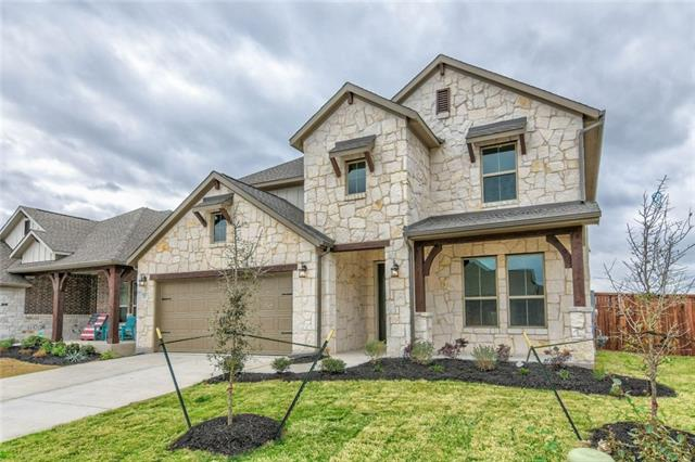 From the moment you walk in the 8-foot front door, the soaring 17-foot ceilings and large, curved granite island that anchors the kitchen and open concept living space will captivate you. Every wall in this space is flanked with windows, allowing for the bright and beautiful Texas sun to shine through. A study and beautifully appointed master suite complete the first floor. Upstairs you will find a large game room and 3 more bedrooms with a full bath.