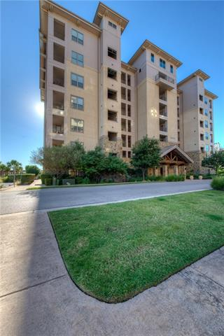 This luxurious 3bedroom 2bath waterfront condo,in The Waters, is located in the core of Horseshoe Bay Resort amenities. On the 4 floor, the condo provides spectacular views of Lake LBJ.The grand master bedroom displays a private entrance to the covered patio. The spa-like master bath features tiled, glass shower enclosure, a huge separate whirlpool tub, double vanity sink and a walk in closet. The Water's amenities include the boardwalk with outside grills, use of the tropical private pool, and day docks.