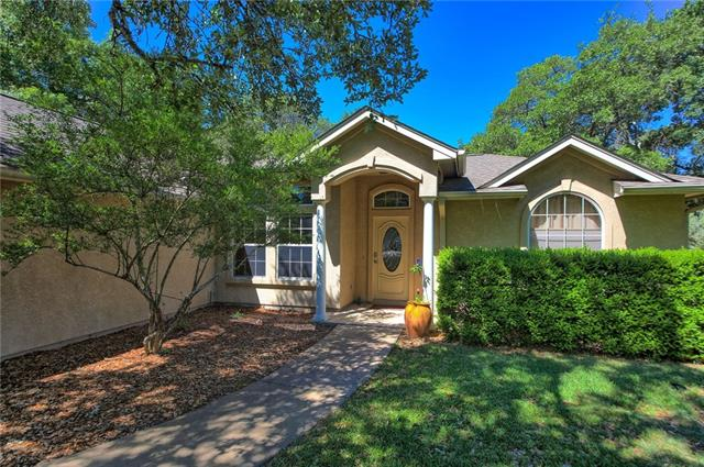 This home is surrounded by large oaks providing lots of shade. Huge deck off back is perfect for entertaining. Beautiful wood floors in main living area, kitchen features plenty of counter space for the gourmet chef! Shiny porcelain tiles installed 2017 in both bathrooms. All outlets and light switches updated in 2017. Hallway outlets have LED nightlight sensors. Entire interior was repainted in 2017. Large master suite with window seat looking into back yard.This home feels like your living in the woods!