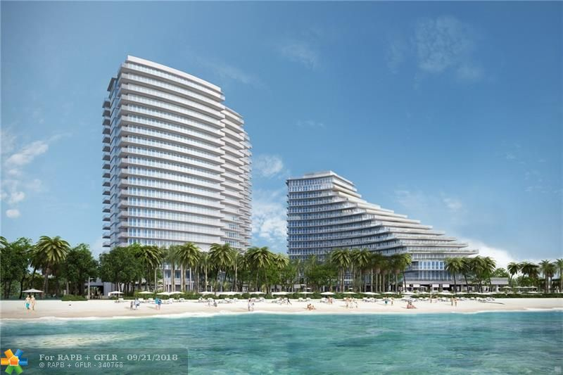 """Residence 404 is presently one of my only two resale opportunities in the sold-out iconic North Tower of Auberge Beach Residences & Spa, consisting of only 57 private homes. It offers 2 bedrooms 3 bathrooms and an office / den. The total living area is 2,585 SQ. FT, 1,895 SQ. FT. of interior space and 690 SQ. FT. of terraces. Features include exquisite 9'6"""" floor to glass ceilings, a Chef's kitchen designed with Italian cabinetry, rich white marble countertops, and includes an integrated espresso/cappuccino system. This is your opportunity to live the very exclusive Auberge Beach Residence & Spa lifestyle, pampering to a few select & fortunate owners. This ultra luxurious world renowned 5-star resort is of unparalleled quality in luxury services and amenities, located directly on the sand."""