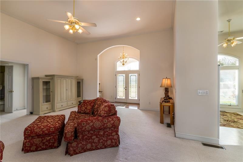 Spacious Great Room Area on Main Floor