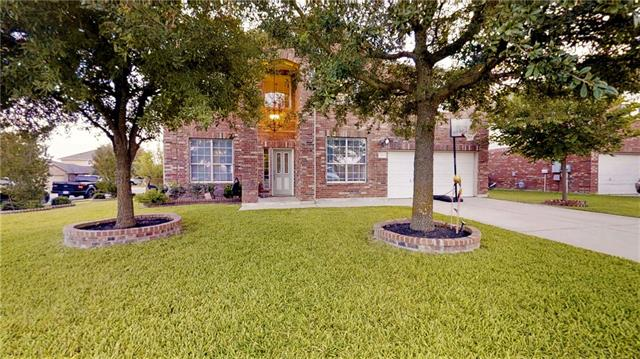 Better than new! Distinguished, very well-maintained & spacious, freshly painted home. This beautiful two-story home features a brick elevation with a magnificent arch at the entrance-elegant, up-to-date and very classic.  Kitchen upgraded new recessed led lights. An upgraded new extended covered patio with commercial built in grill and stove, mini fridge, Granite countertops, Wood ceiling with recessed led lights easily accessed from the breakfast room. view attachment. Schedule your private tour today!