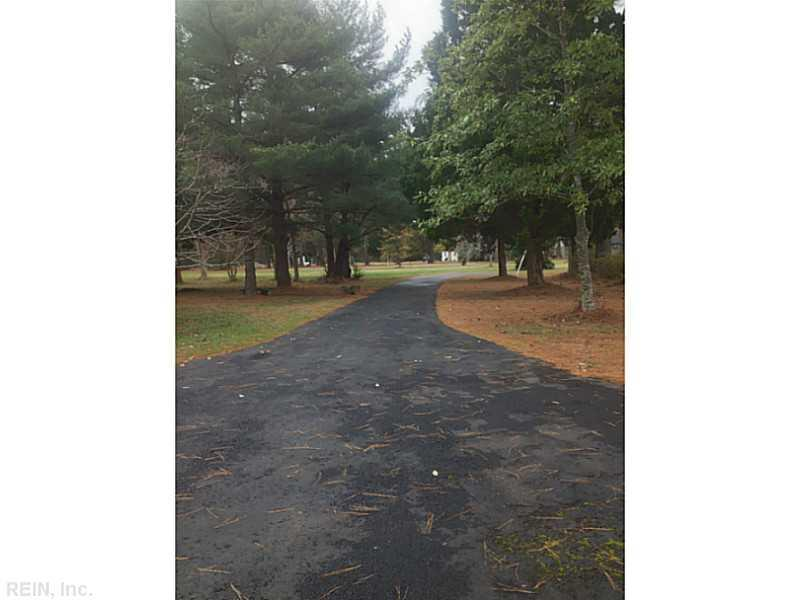 Exterior Front. Driveway near the home