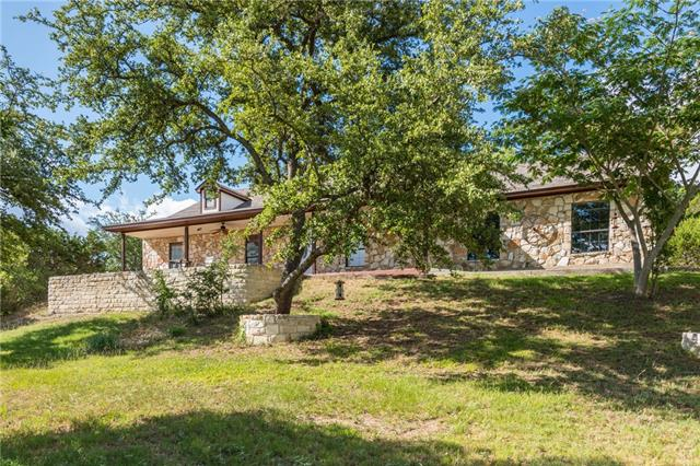 Gorgeous home setting on nearly 4 acres w/ hill country views & complete privacy (3 acres fenced w/ private gate)! All new paint inside & out, new windows~2016, new HVAC~2014, bath remodels~2017, separate dedicated office space...& much more. Huge metal carport plus two more outbuildings. This stunning property is perfectly located just 5 minutes from Lake Travis & Jones Brothers park w/ 3 boat ramps. Shopping & restaurants close at The Parke & 1890 Ranch in Cedar Park, & highly desired Leander schools.