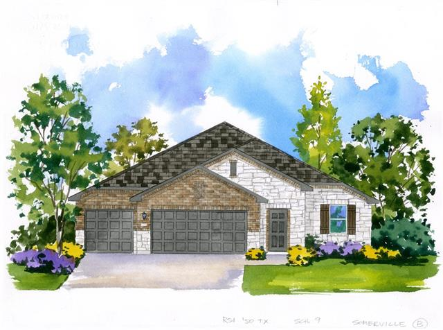 "THIS NEW RSI COMMUNITIES HOME OFFERS THE BEST IN OPEN FLOOR CONCEPT. THE KITCHEN HAS 42"" WHITE CABINETS WITH CROWN MOLDING AND HARDWARE, SNOW WHITE QUARTZ COUNTERTOPS, STAINLESS APPLIANCES, OVERSIZED KITCHEN ISLAND, AND MORE! THE MASTER FEATURES LARGE WALK-IN SHOWER, QUARTZ COUNTERTOPS, AND OVERSIZED WALK IN CLOSET. THIS HOME ALSO FEATURES 2"" BLINDS THROUGHOUT, FRONT AND BACK IRRIGATION, LANDSCAPING, COVEREDD PATIO AND FENCE."