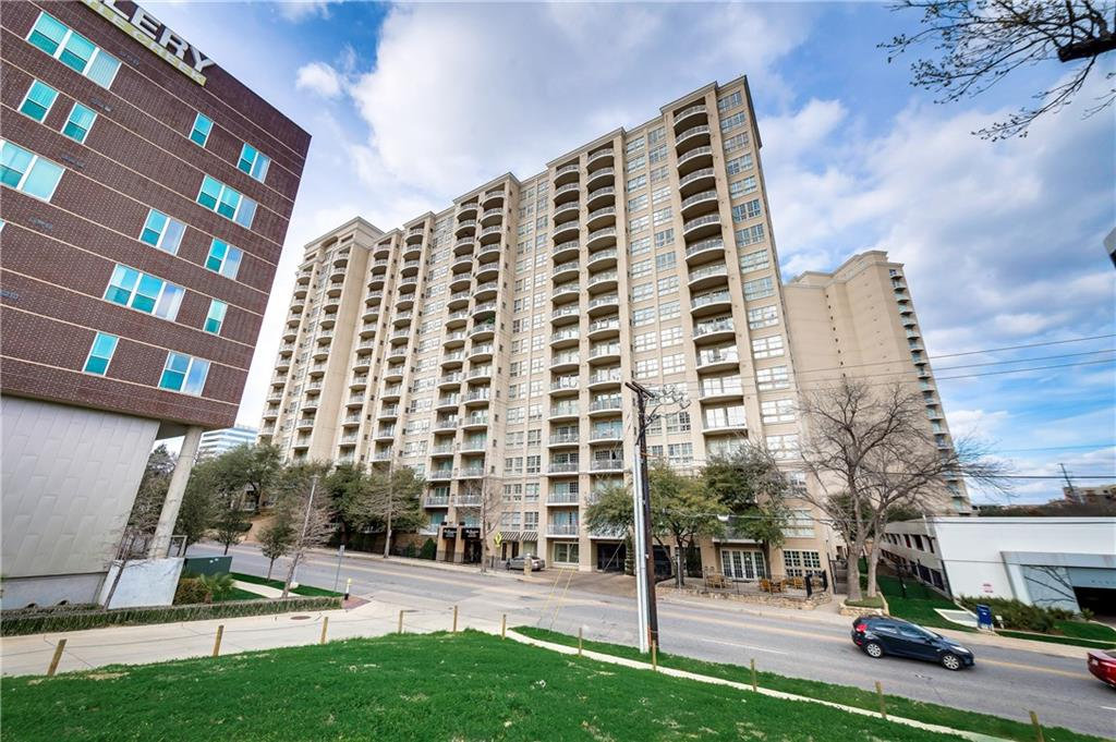 Updated 2 bedroom, 2 bath at Renaissance on Turtle Creek. This unit is peaceful, quiet, full of natural light during the day & has a views of the city and Lee Park (Oak Lawn Park). Kitchen has all stainless steel appliances, wood floors, updated backsplash, granite countertops & decorative lighting. Master Bath has a beautiful, updated shower with seamless glass, tumbled marble and rain shower with massage features. Very convenient parking space #623, plus an unreserved spot. Great location near Uptown, restaurants and shopping centers.