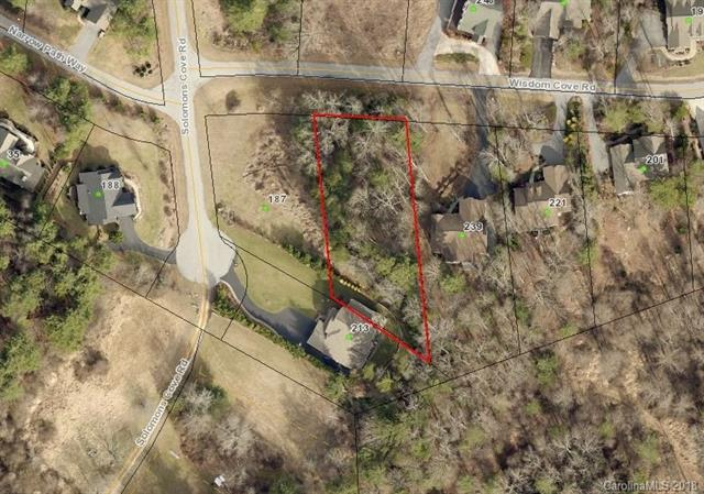 Beautiful .58 acre lot located in Solomons Cove. Natural setting with common area stream. City Water/Utilities available. 3 bdrm Septic permit. Convenient location - Close to Downtown Historic Hendersonville.