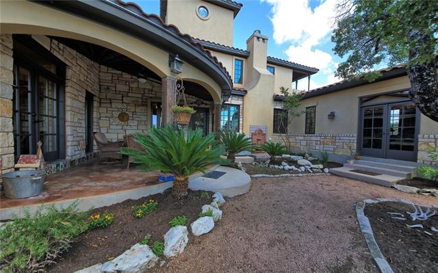 Stunning Spanish Colonial home situated on 2.5 acres. Includes lot located across the street for potential casita/guest house or office. Spacious floor plan great for entertaining.  Spectacular views of the Texas hill country throughout. Private wine room, balcony and outdoor patios. Outdoor speaker systems and pre- plumb for future pool.  This is a MUST SEE property!! CALL agent to confirm owner is not visiting property.