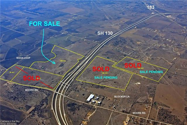 This property has approximately 2,600 feet of road frontage on SH 130. The property has a rare driveway access onto the SH 130 frontage road for easy access north or south. Located 1.6 miles south of F1 Circuit of Americas and 3 miles east of Easton Park, Austin's newest and largest Master Planned Community. Electrical service from Bluebonnet Electric Coop.