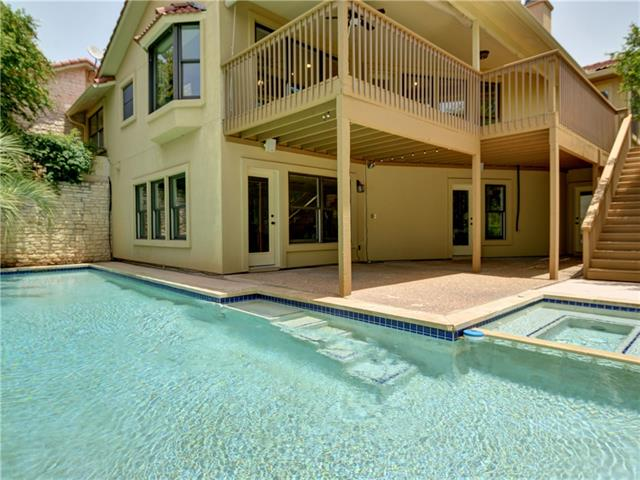 GORGEOUS CUL-DE-SAC HOME W/ LAKE VIEWS! Adjacent to waterfront & lake views from almost every room! Open floorplan & great natural light. Granite in all baths & kitchen. All beds have walk-in closet. Kitchen w/ island, stainless appliances incld. wine fridge & induction cooktop, breakfast area & great storage. Master w/ fireplace, double vanity, walk-in closets, jetted tub & walk-in shower. Huge gameroom w/ wet bar. Pool & spa w/ decking for entertaining. Oversize garage.