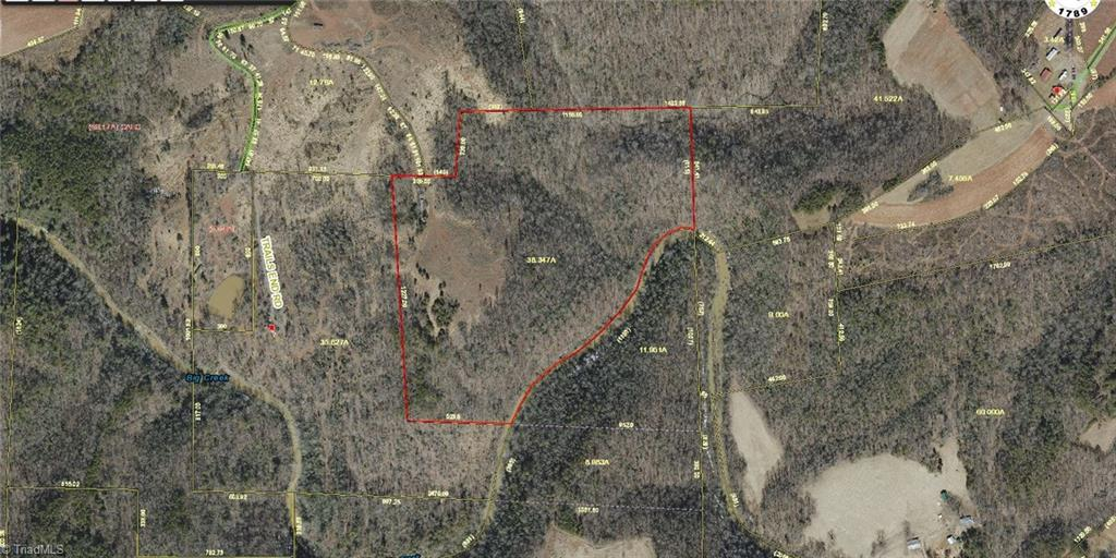 Frontage on Big Creek - great hunting land - currently leased to Hunter through this deer season. Access by farm road. No drive-bys, must have an appt. to see. Singlewide does not convey.