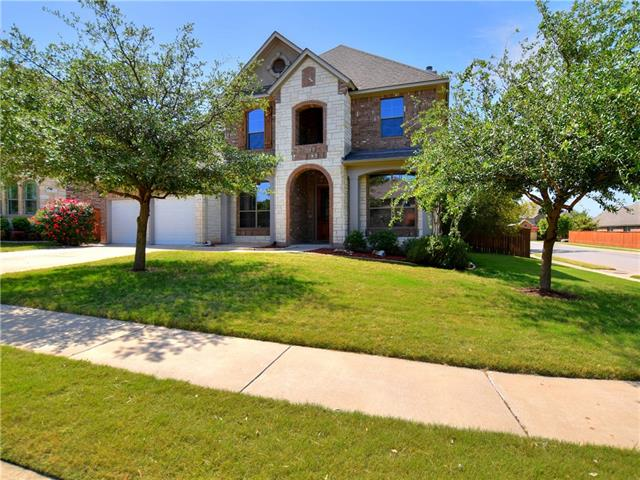 An amazing 5bed/4.5bath home that instantly draws you in! Walk into the home to find gleaming floors & an open floor plan. Perfect for any type of gathering! New interior paint & carpet. The stunning kitchen offers stainless appliances, granite counters, & dark wood cabinets. Relax in the master bed! Master bath offers a double vanity, walk-in shower, & tub. Guest bedroom+attached full bathroom. Enjoy the outdoors under the pergola/enjoy a refreshment from the bar. Perfect for outdoor entertainment!