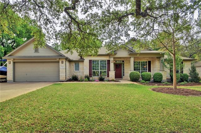 """Beautiful 1 story home on 1/3 acre w/mature trees. Updates incl HVAC replacement Nov/17, remodeled baths, & lots of wood flooring.  Remodeled kitchen incl, 42"""" upper cabs, granite counters, 1 compartment SS sink, recessed can lights, SS appliances & tile backsplash. Study w/pocket doors. Master incl granite, framed mirror, custom cabinets, & walk-in shower. Lg master closet. 4 Sides stone, deck & patio, 12'x16' outbuilding w/attached coop. Easy access to shopping, dining & recreation. No HOA, No City Tax"""