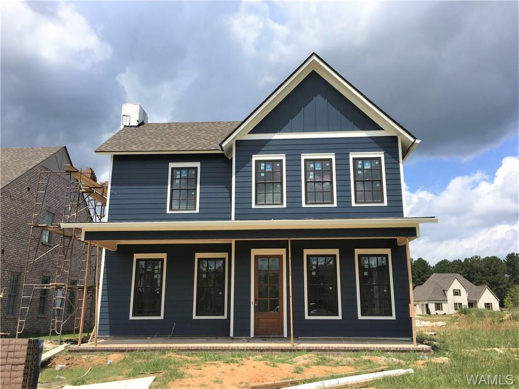 This new construction home, without compromise, has a grand view as you walk in the front door. 10' ceilings and shining hardwood in the open concept living area flows into your kitchen, with an island that is wrapped in shiplap.  Kitchen also features granite counter tops & stainless steel appliances. A covered porch just off the kitchen makes a perfect space for entertaining. Main-level master suite offers seclusion, a spacious walk-in closet, dual sinks & a tiled shower.  Upstairs you find all guest bedrooms, a 2nd full bath as well as a generous amount of storage space. Located in popular Highgrove - a growing, North of the River community that includes a park, a playground, a pavilion that features a fireplace and big screen TV and a walking trail!  This one can be yours if you hurry!