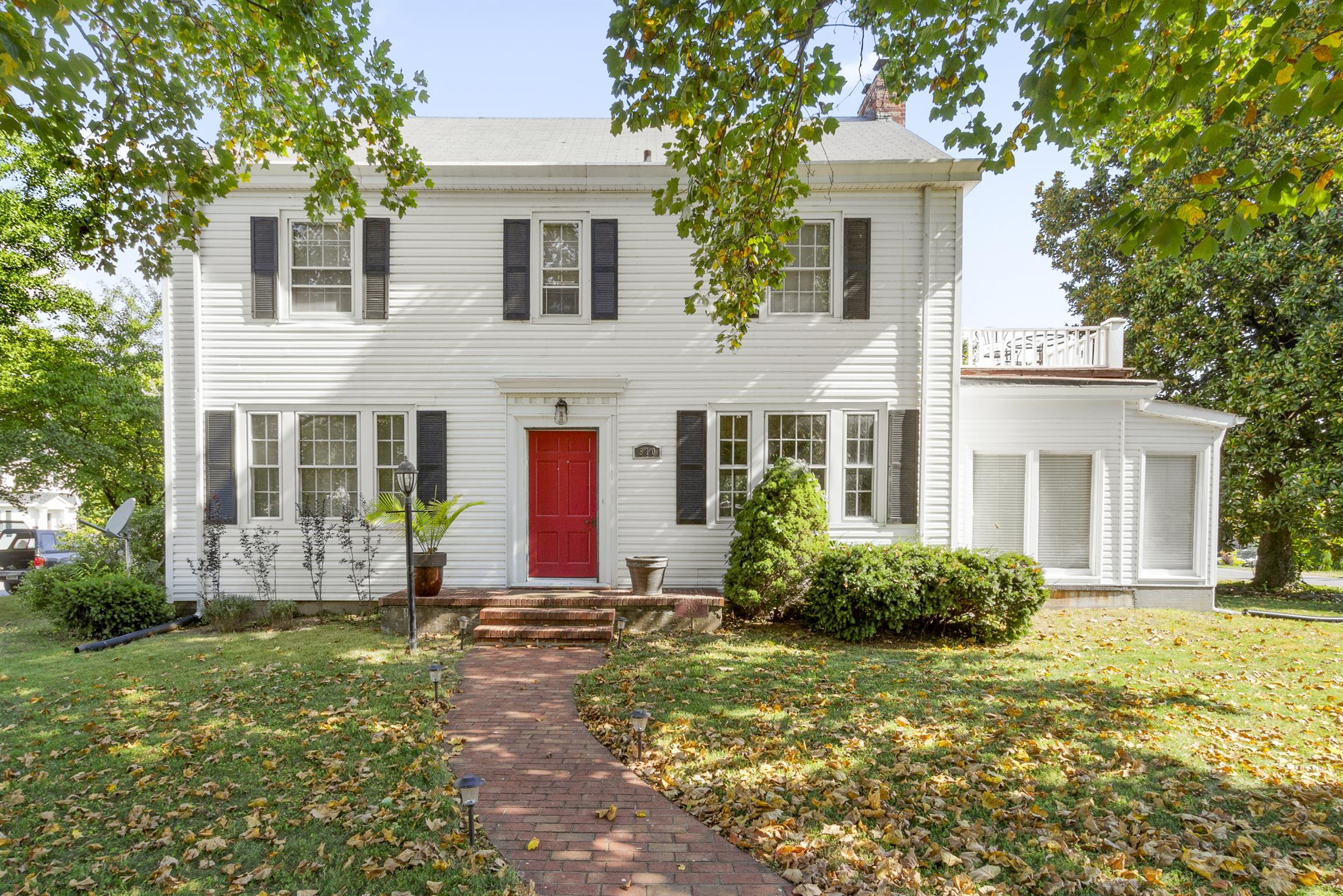 ***HISTORIC*** Just a few steps down to Old Hickory Lake, this historic Colonial home nestled on a corner lot is a showplace! Many of the original fixtures remain in this restored 1930-built 4 bedroom, 2.5 bath home. See for yourself!