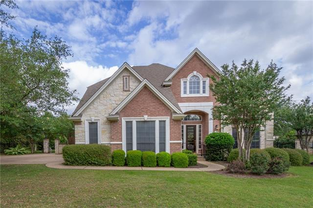 This elegant home in the Reserve of Berry Creek has a backyard oasis w/ large covered patio, pool/spa & lush landscaping. There are 5 BRs & 4 full baths (master plus guest suite down), 4 living areas -- media/game, 2 family, 1 formal which could easily be converted to an office. LOW mandatory deed fee of $56/mo. can be applied to club membership. LOW HOA only $69/year. Close to I35/SH 195/130 Toll for EZ commute to Austin/Temple/Ft. Hood. This is a great secluded section of Berry Creek. NEW ROOF 5/2018