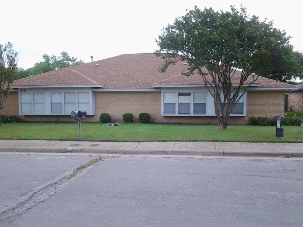 Location, Location, Location: This duplex is located close to HWY 635 & HWY 75. Nice floor plan with spacious living area and kitchen.