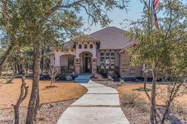 UPscale home loaded with many custom extras, note attachment. 4.298 acres, 3149 sq ft home, 3 car garage + workshop, 800 sq ft storage, RV hook-up. Home: exotic granite kitchen counter tops, big breakfast serving bar, custom appliances, butler pantry. Greatroom has huge fireplace with a floating Mesquite mantel (gas start). 12' sliding glass wall to stunning patio. Stone accent wall in large bay window Dining. Custon lighting and Porcelain floors thru out the home. Back Patio has 1/2 bath and Blaze Grill.