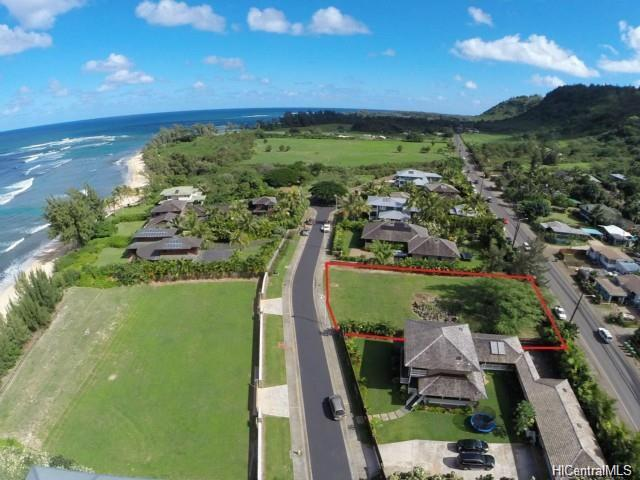 One of the only remaining Vacant Lots in this newest North Shore Beachfront Sub-Division: SUNSET BEACH COLONY.