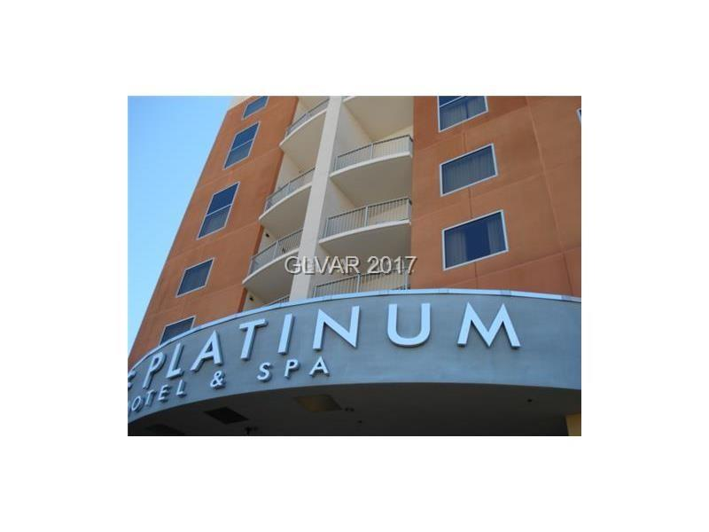 Stunning 17th floor mountain views condo at the beautiful Platinum Hotel. This top floor condo features spectacular mountain views, granite countertops, stainless appliances and tile floors. Being sold fully furnished for the hotel rental program. The community features include indoor/outdoor pool, Lobby bar, valet.
