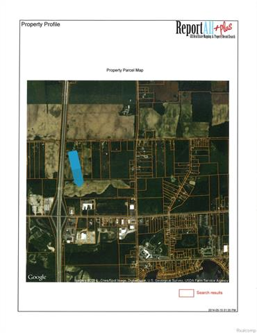 35.21 acre parcel in the Thompson Road developmental corridor.  There has been a new Master Plan that is open to many types of developments including Big Box Retail.  Don't miss this opportunity.  Additional assemblage is available.  This property has approximately 693 feet of frontage on US-23.  All information is approximate and should be verified.