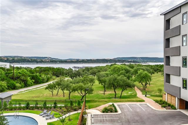 NEW waterfront Lake Travis Condo! This Angel Falls floor plan features floor-to-ceiling windows with modern, luxury finishes throughout, and a balcony overlooking the pool and lake views. Situated on 14 acres of hill country Lake Travis land there is an abundance of trees and lush landscaping that create a luxury park-like setting. Pool, cabana and grill for entertaining. All residence have access to Marina. Inquire about boat slip options. Available for move-in now!