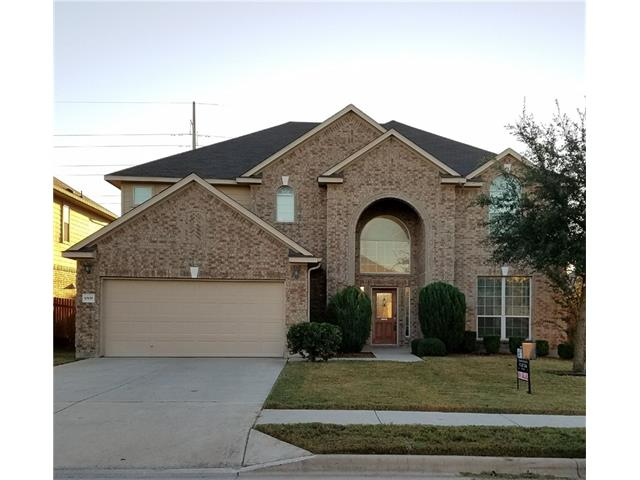 Beautiful Home located in the Emory Farms subdivision in Hutto.  This 2 story home has and open floor plan with 4 spacious bedrooms, 2 1/2 bathrooms and a 2-car garage.  Great spaces for entertaining with a huge game room and media room.  Convenient access to local eateries along the US 79/Palm Valley corridor.