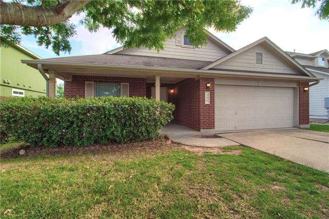 A great family home close to shopping and award winning Hutto schools. Minutes from major tranportation arteries. No HOA* Large Master Bedroom with large office attached* Nice size backyard* Breakfast area and formal dining room* Covered patio and front porch* Park nearby* Charming 1 story with 3 bed/ 2 baths* Walking distance to schools* Easy to show.