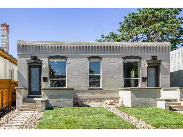 Duplex property in 3651 North Humboldt Street Cole Denver CO