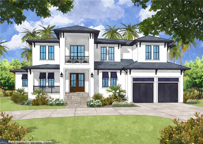 "Pre-construction. To be built. Developed by Brookshire Homes & Brad Campbell this stunning new construction home on a large lot in Sunset Park will be ready to welcome its new owners in October 2018! Featuring a 4-CAR GARAGE, HEATED SALTWATER POOL & SPA, 5 bed, 5.5 bath, formal living & dining rooms, office/den, giant bonus room. This home leaves nothing left on the wish list. IF YOU ACT FAST you can select YOUR choice of flooring, fixtures, paint, cabinets & countertops within builder's specs. Gourmet kitchen & cafe includes THERMADOR professional stainless appliances. Butler pantry w/ built in U-Line wine cooler will be the entertaining host's best friend. Family room includes fireplace & French doors that open up to fully equipped outdoor living & kitchen w/ wood tongue & groove ceiling. Painted maple cabinetry, marble countertops, KOHLER fixtures & EMTEK hardware throughout your home. Master suite is spilling with natural light & offers a sitting area, his & hers closets/vanities & a beautiful soaking tub separate from your rainfall shower. Featuring 10' tall ceilings & 7"" crown molding throughout your home, 8' Mahogany front door, travertine front & back porch, brick paver CIRCULAR DRIVEWAY, oil finished hardwood flooring, all solid wood interior doors, bronze PGT impact windows...builder has not overlooked a single detail of luxury & efficiency. Home warranty details in photos. You won't find a builder in Tampa who cares more about his product! Schedule to view today."