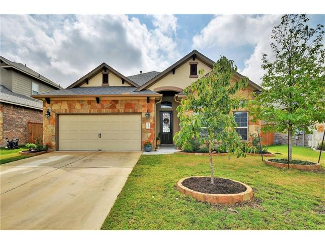 """Practically BRAND NEW HOME w/NO BUILD TIME! Gorgeous MI HOME just around the corner from the Community pool. Home features 8 ft doors through out~4th bedroom option w/3rd full bath. Beautiful Gourmet kitchen w/grey tone cabinets, granite counters & custom tile back splash. Spacious open floor is perfect for entertaining! Master has """"spa like"""" bath w/ walk in shower & double sinks. Covered patio~sprinkler system~rock landscape flower bed borders~no rear neighbors~4 sides brick. A MUST SEE!"""