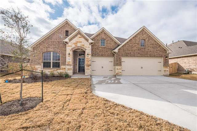 Beautiful, brand new 1 story home situated on oversized lot in Lakeside At Blackhawk. The home features an open concept kitchen to family room great for entertaining.  The kitchen boasts a huge center island w/ breakfast bar, recessed lighting, energy star SS appliances & an eat-in breakfast area. Plenty of addl space including a private guest bedroom w/ a full bath, study, utility room & another 1/2 bathroom. Enjoy the evenings relaxing on your covered back porch in your private back yard.