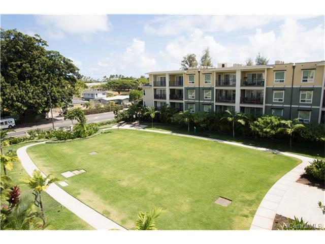 Live the island lifestyle, with all of Kailua's fabulous shops and dining just steps away. Imagine waking every morning in this fresh beachy condo, and in the most sought after building in the complex. This exquisite condo has been meticulously cared for and shows pride of ownership. In addition to all the top of the line finishes, the owner has added a closet organizer to the large walk-in master closet.  The two covered parking stalls are conveniently located near the elevator.