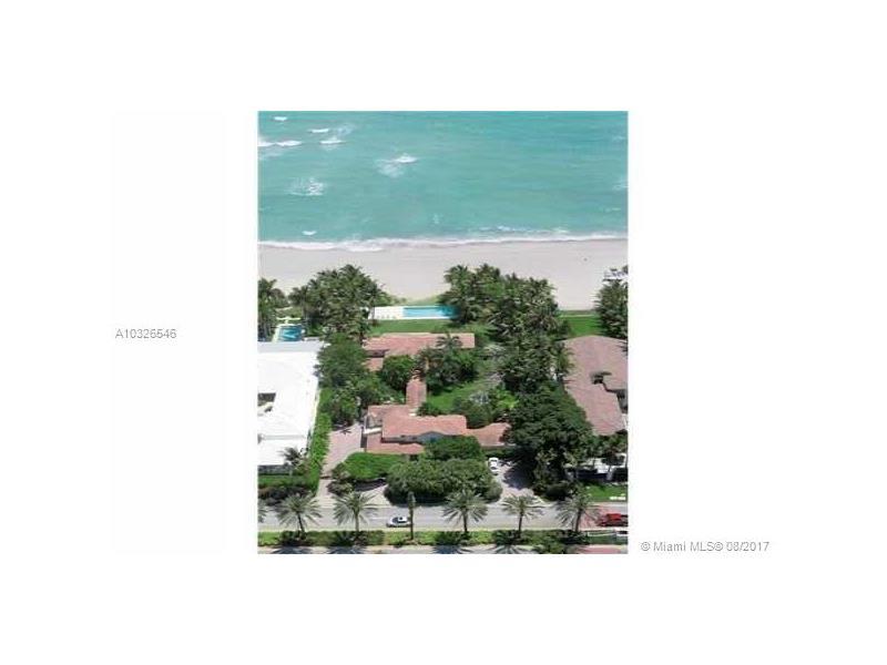 115 Ocean Blvd, Golden Beach, FL 33160